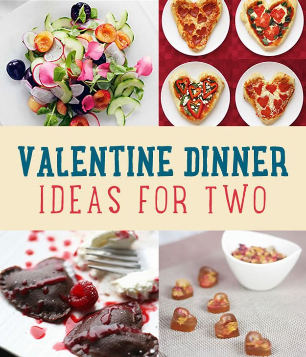 Valentine Dinner Recipes  Romantic Valentine Dinner Ideas for Two DIY Ready