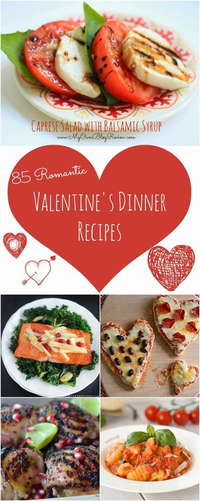 Valentine Dinner Recipes  85 Recipes For A Romantic Valentine s Day Dinner At Home