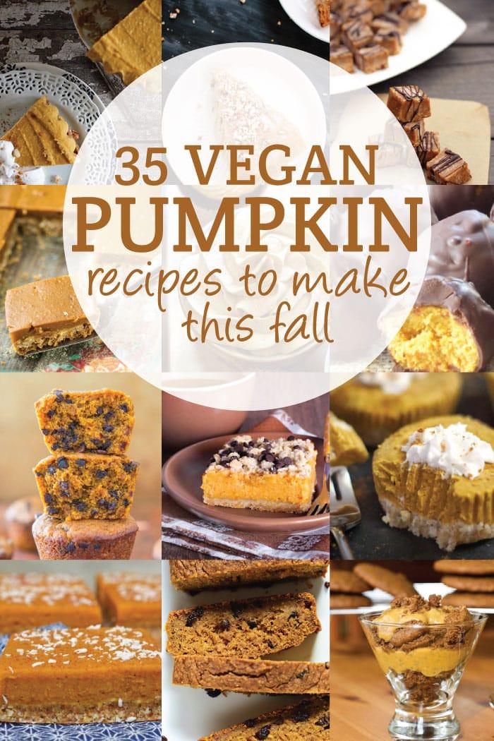 Vegan Fall Desserts  30 Vegan Pumpkin Recipes to Try This Fall