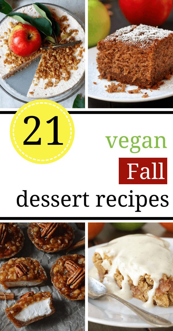 Vegan Fall Desserts  21 Heavenly Vegan Fall Dessert Recipes