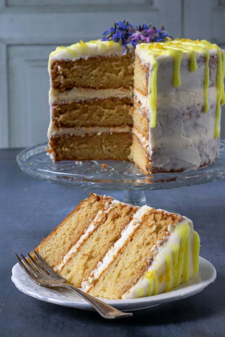 Vegan Lemon Cake Recipes  Easy Vegan Lemon Cake Veggie Desserts