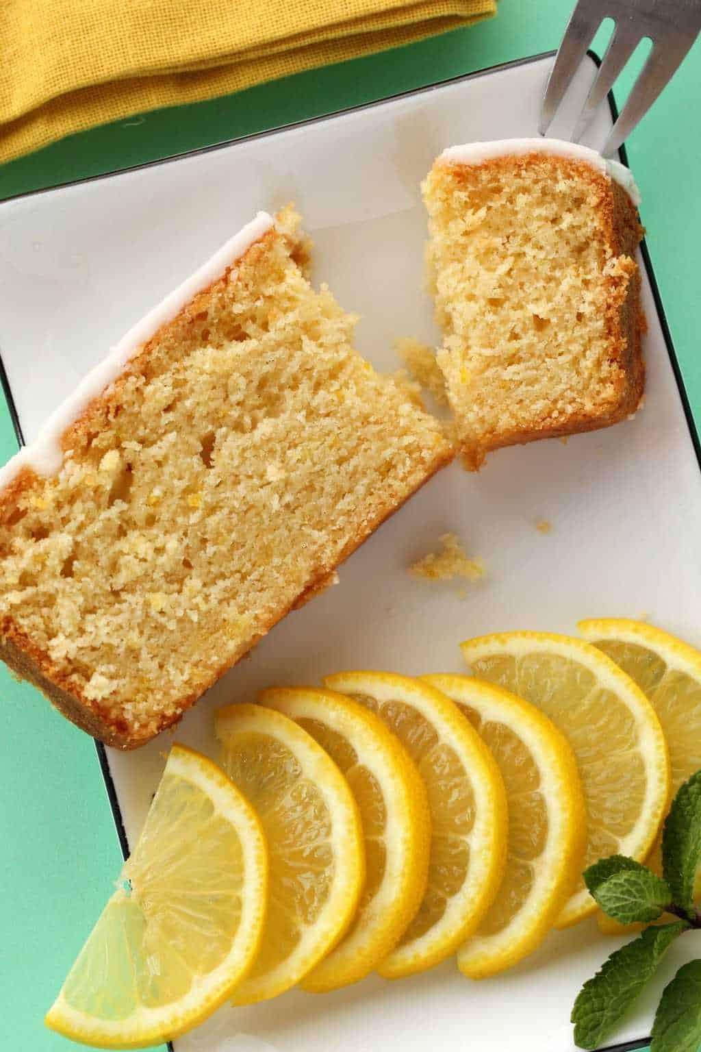 Vegan Lemon Cake Recipes  Vegan Lemon Pound Cake with Lemon Glaze Loving It Vegan