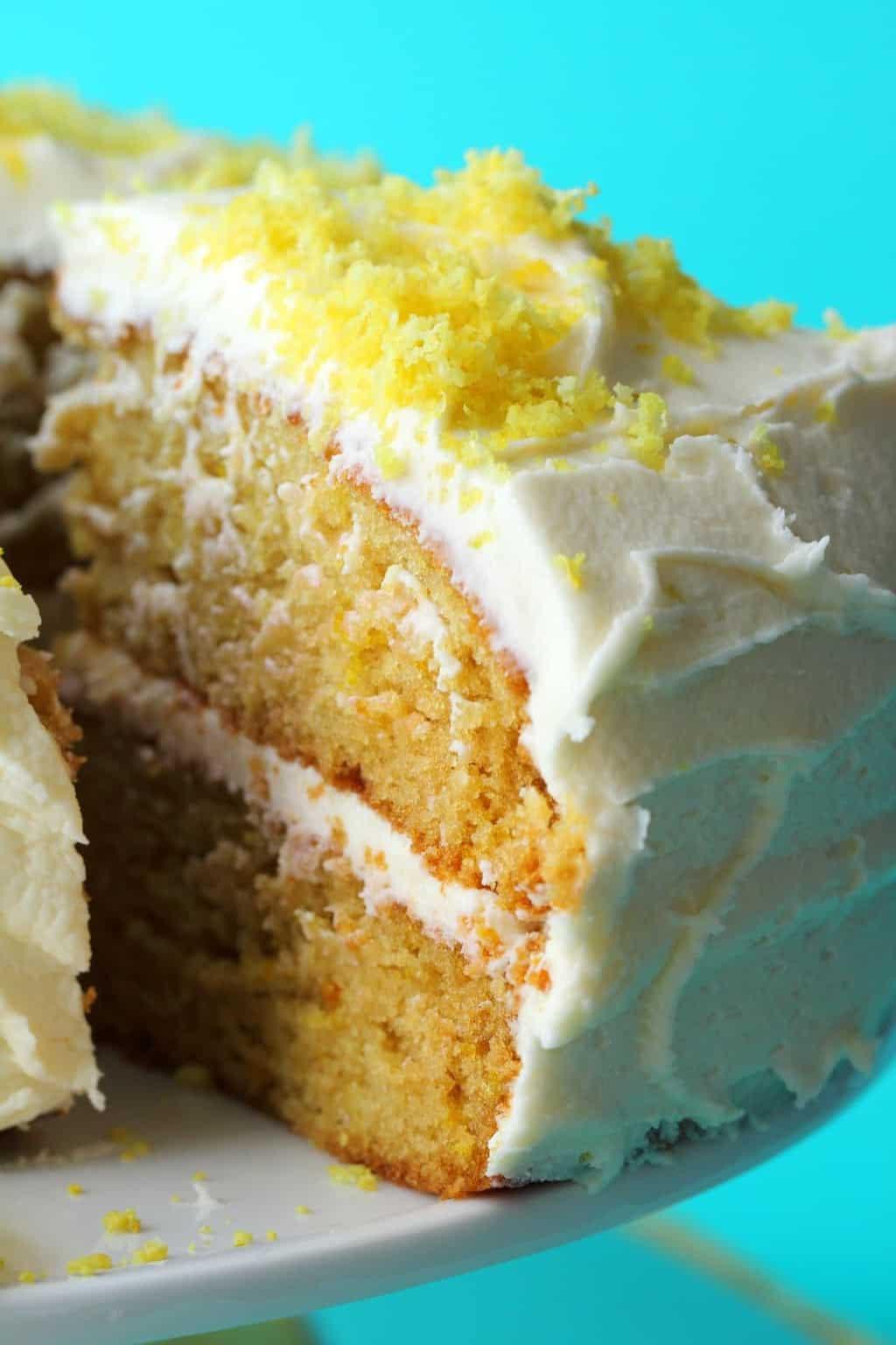 Vegan Lemon Cake Recipes  The Best Vegan Lemon Cake Loving It Vegan