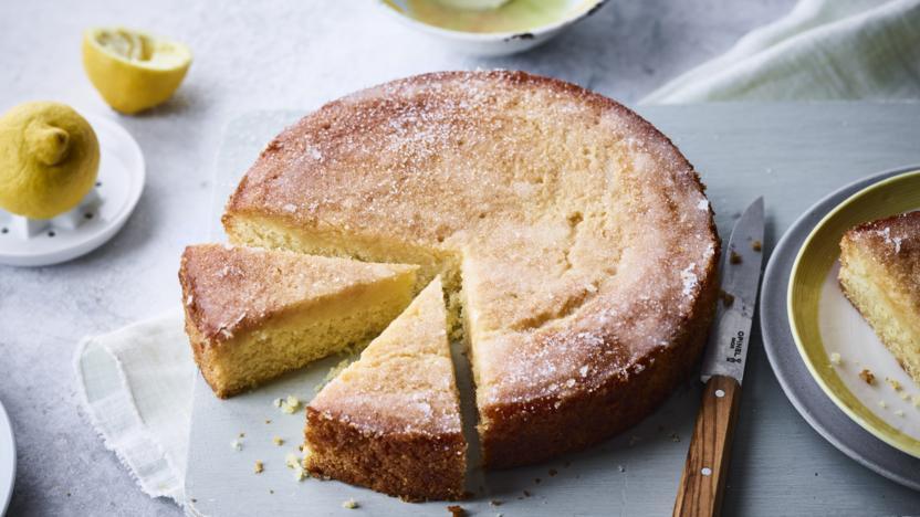 Vegan Lemon Cake Recipes  Vegan lemon drizzle cake recipe BBC Food