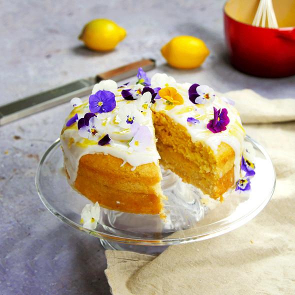 Vegan Lemon Cake Recipes  Vegan lemon drizzle Vegan cake recipes Good Housekeeping