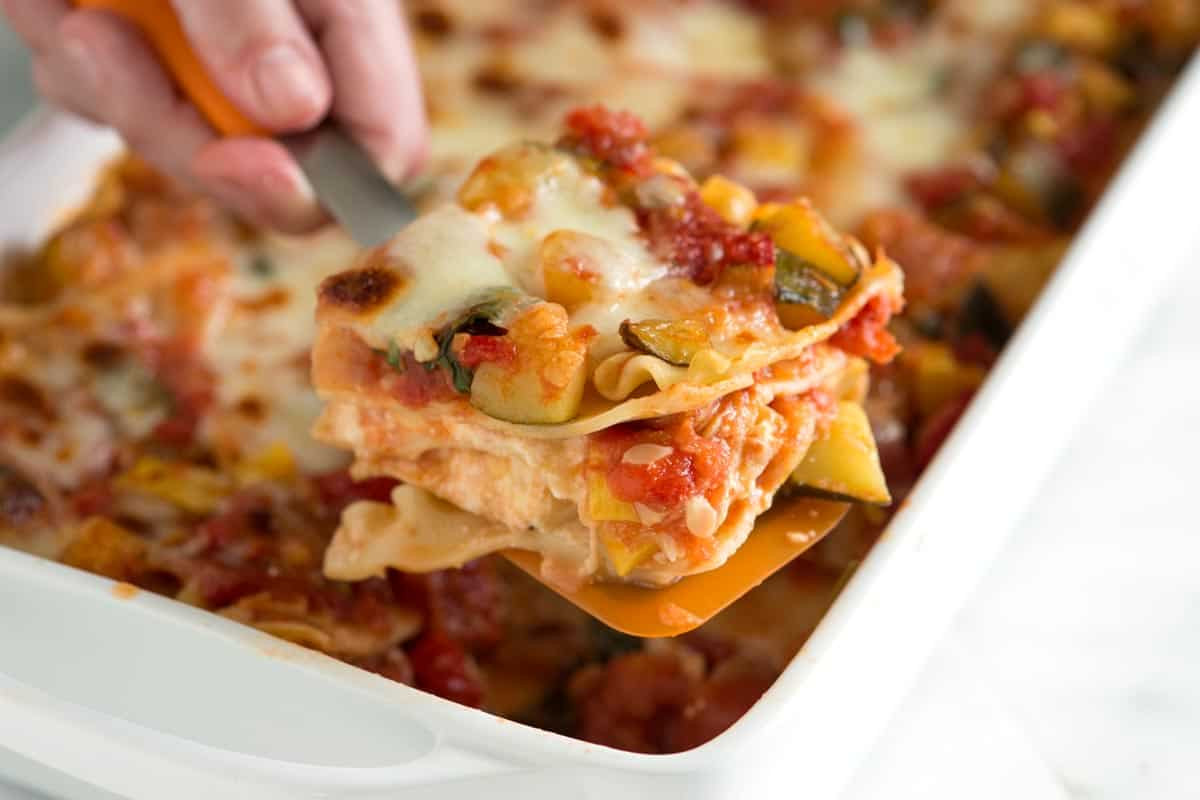Vegetarian Lasagna Epicurious  10 Quick and Easy Meatless Recipes for Lent The Bud Diet