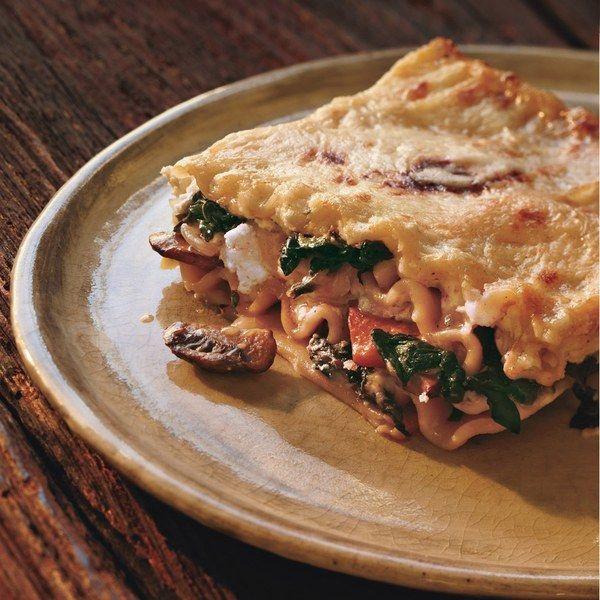 Vegetarian Lasagna Epicurious  Swiss Chard Lasagna with Ricotta and Mushroom
