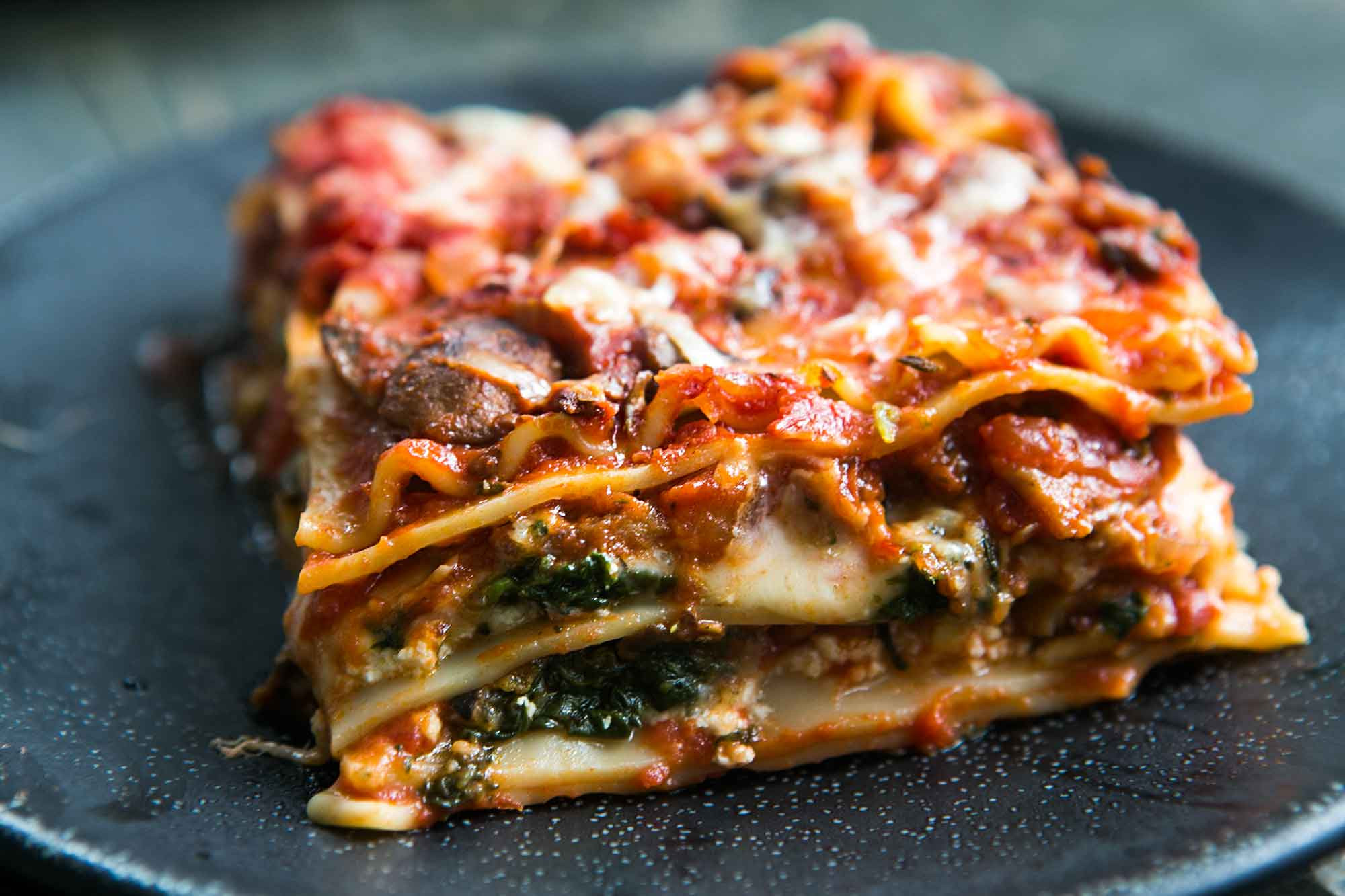 Vegetarian Lasagna Epicurious  Delicious Vegan Meals Delivered to your Doorstep