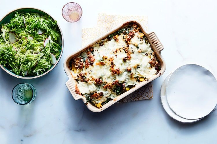 Vegetarian Lasagna Epicurious  This Squash Casserole Is the Answer to Weeknight