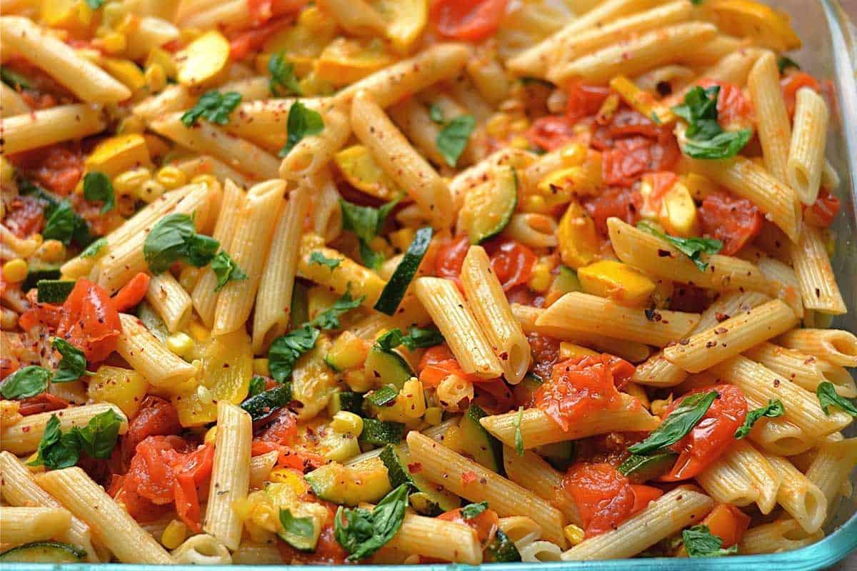 Vegetarian Sauces Recipes  Ve able Garden Pasta Wholesomelicious