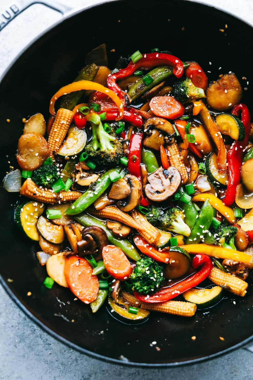 Vegetarian Sauces Recipes  Easiest Ve able Stir Fry