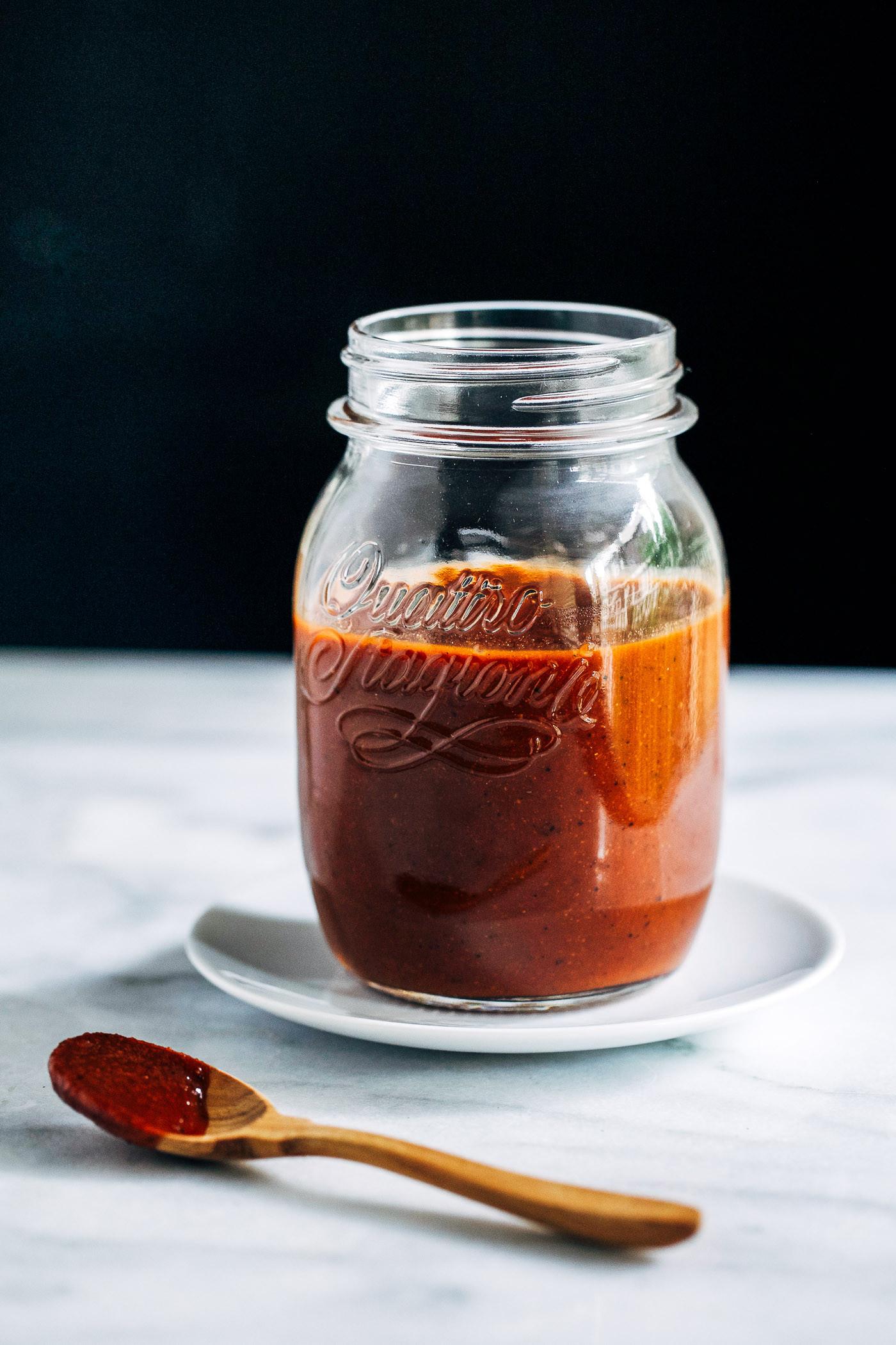 Vegetarian Sauces Recipes  Homemade Vegan BBQ Sauce Recipe Making Thyme for Health