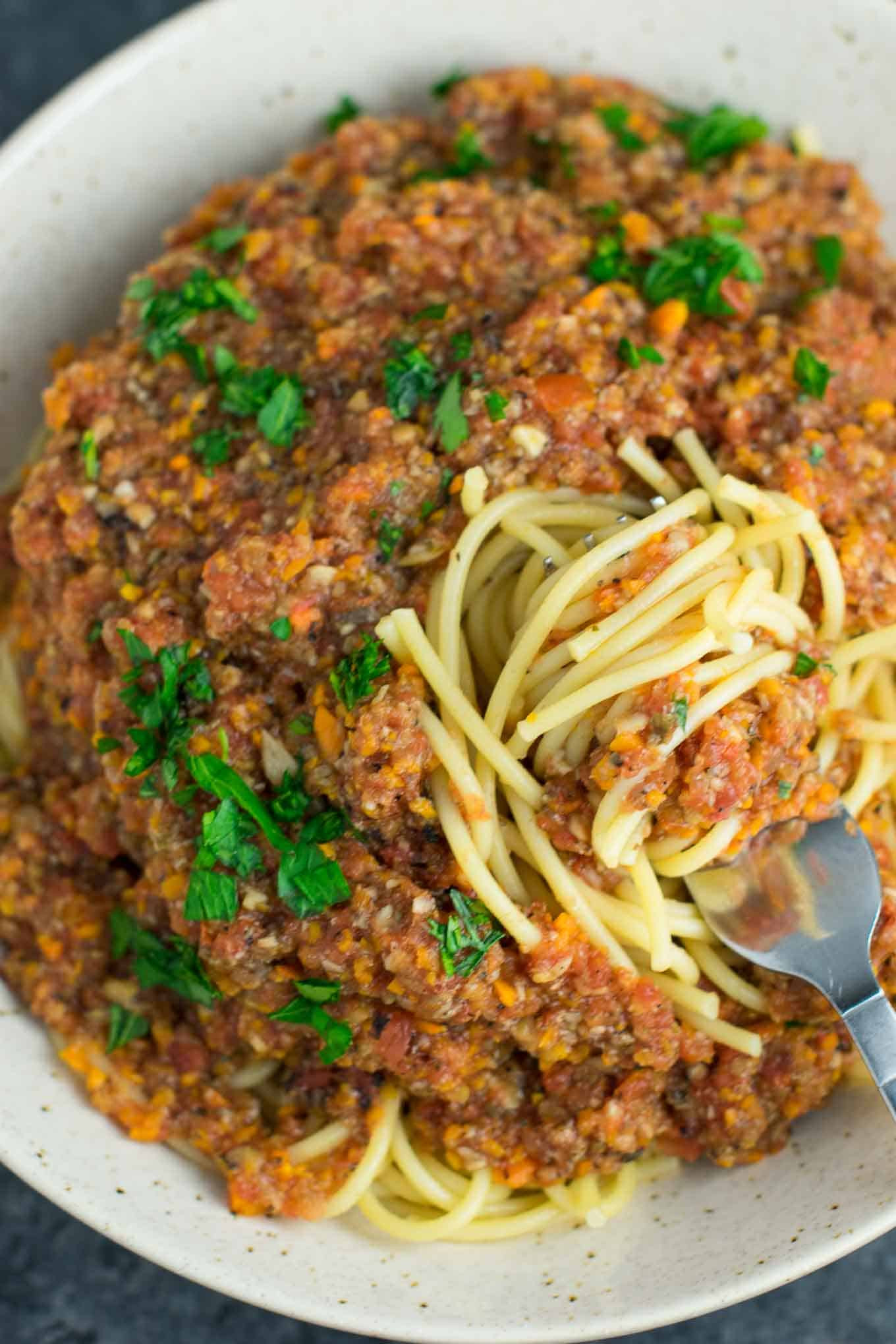 Vegetarian Sauces Recipes  Ve arian Bolognese Sauce Recipe Build Your Bite