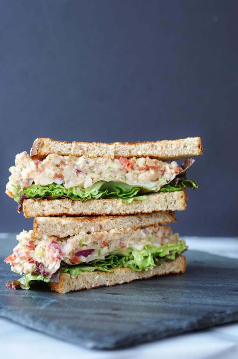 "Vegetarian Tuna Recipes  Vegan ""Tuna"" Salad Veganosity"