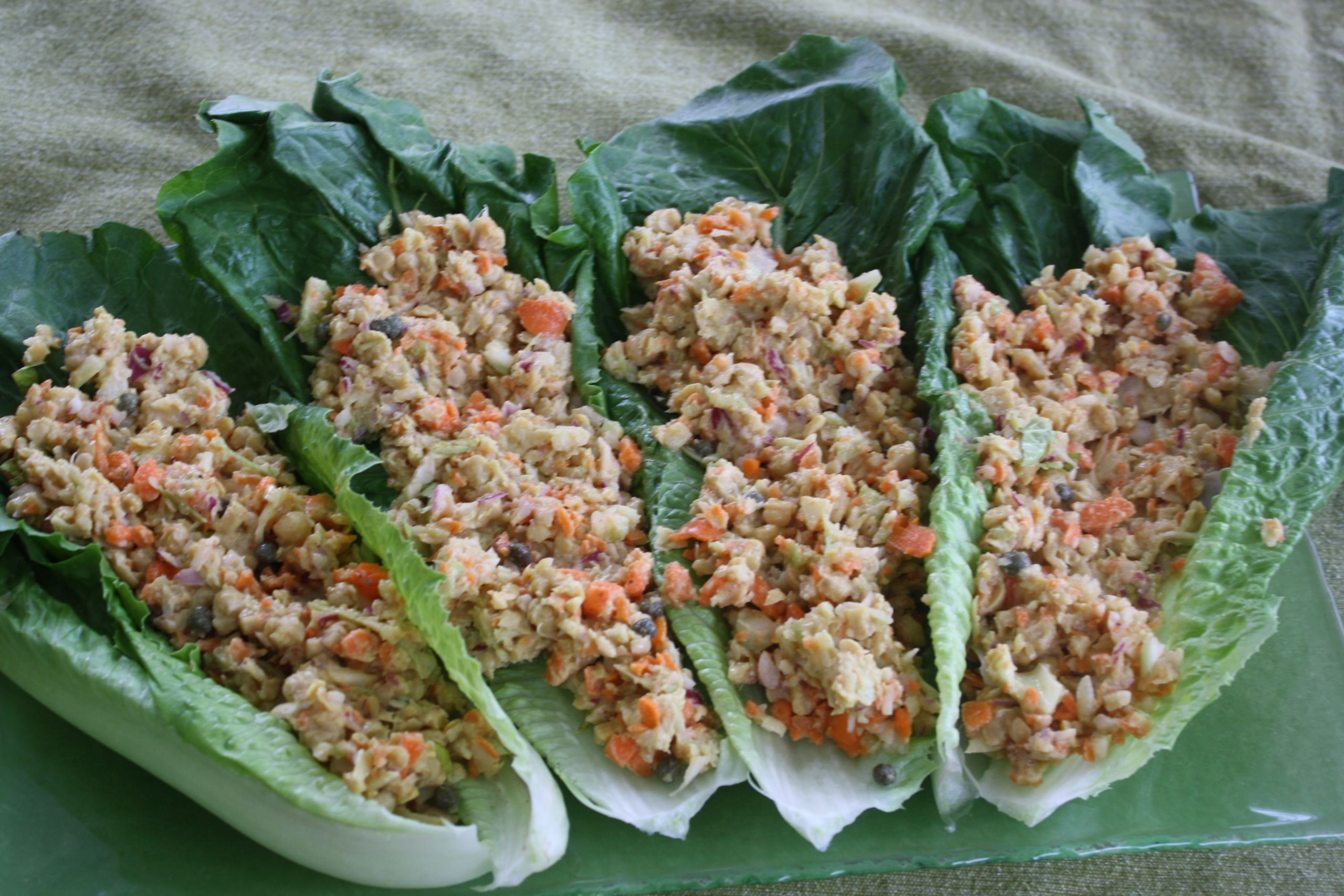 "Vegetarian Tuna Recipes  No Mayo Chickpea ""Tuna"" Salad Vegan"