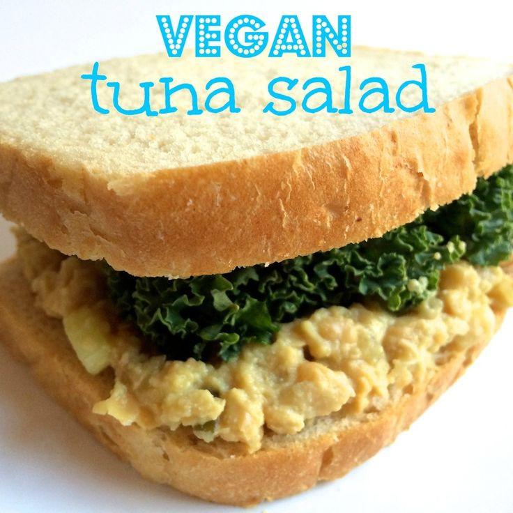 "Vegetarian Tuna Recipes  Vegan ""Tuna"" Salad Recipe — Dishmaps"