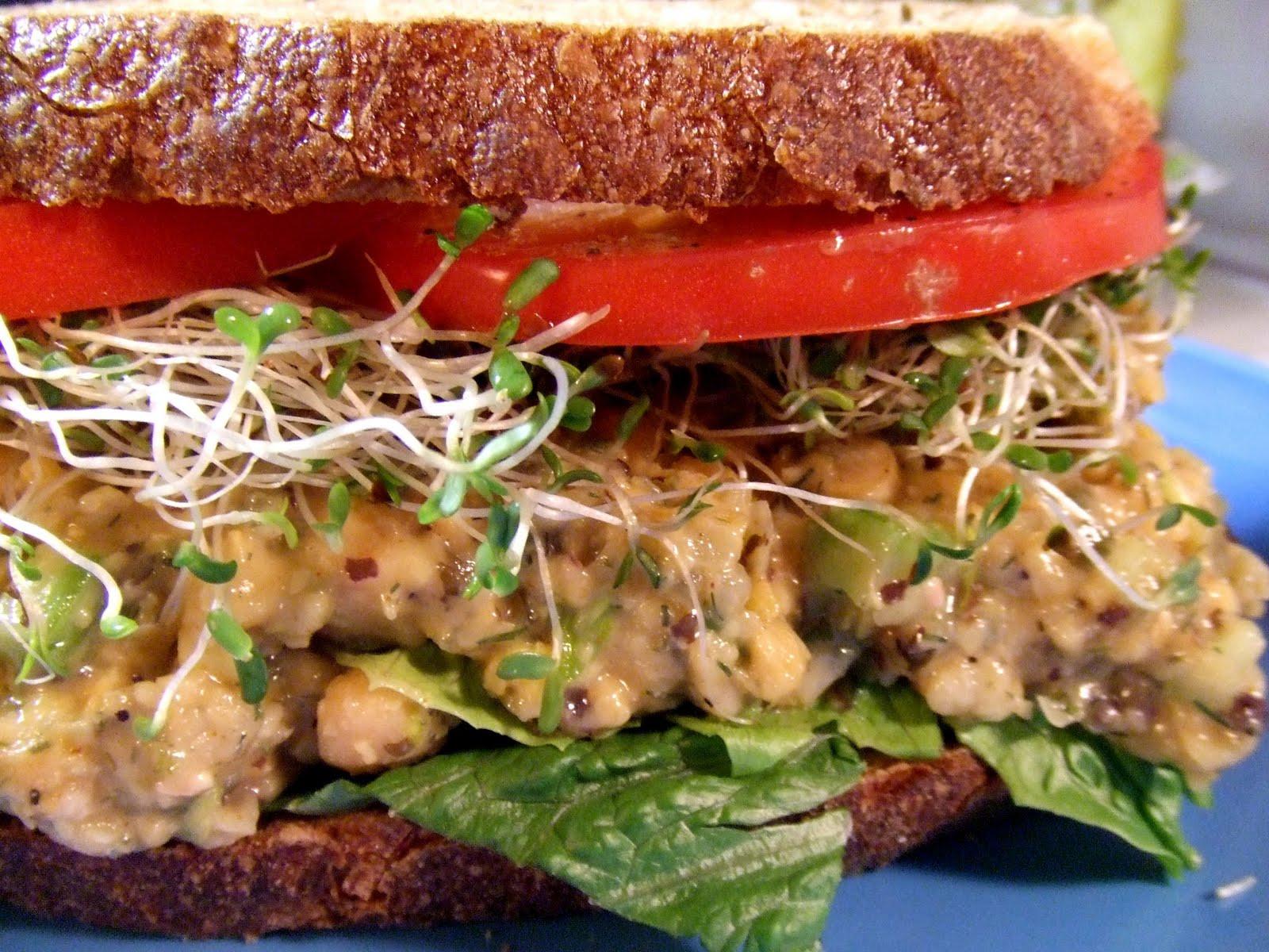 "Vegetarian Tuna Recipes  Extreme Vegan Makeover Chickpea ""Tuna"" Salad Edition"