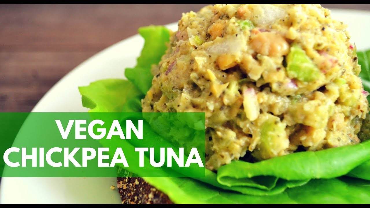 Vegetarian Tuna Recipes  Vegan Chickpea Tuna Recipe How To Make Vegan Chickpea