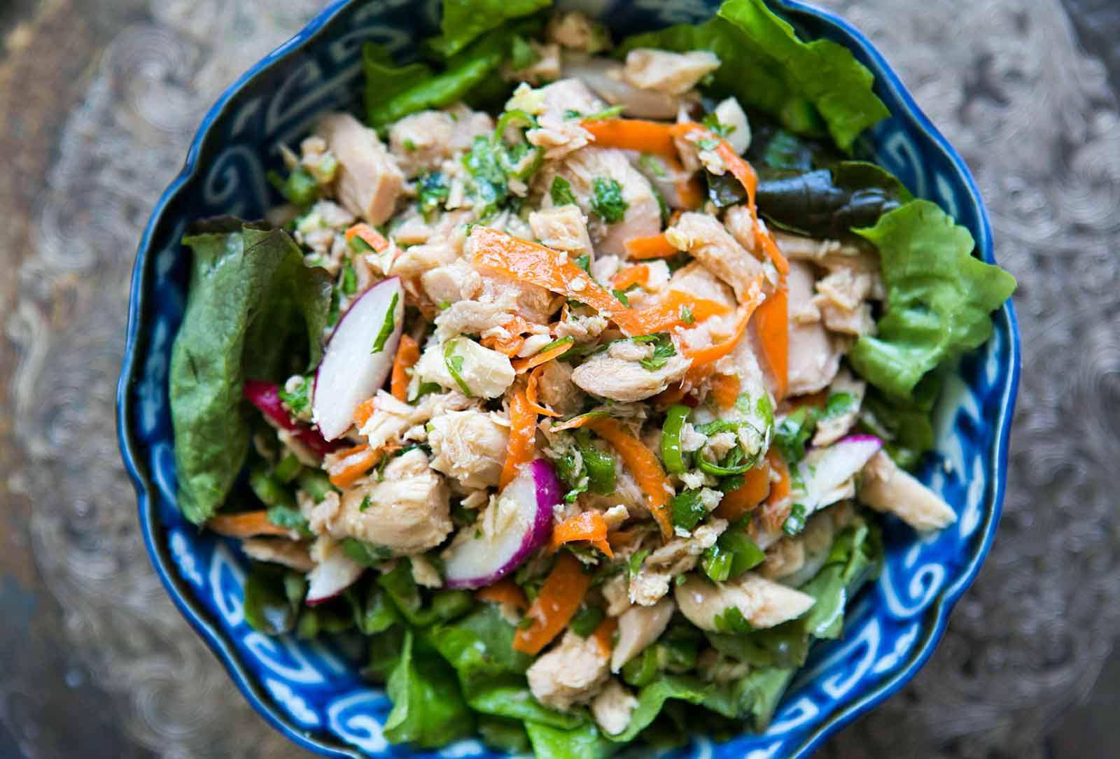 Vegetarian Tuna Recipes  Asian Tuna Salad Recipe