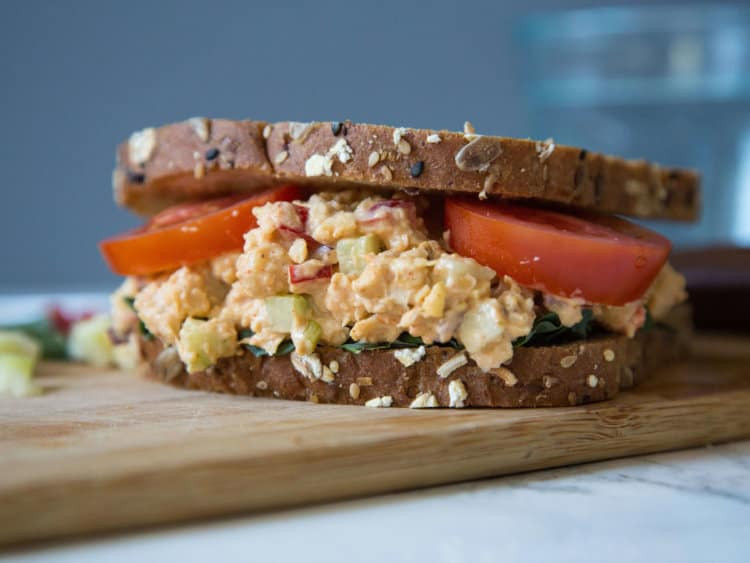 Vegetarian Tuna Recipes  Vegan Tuna Chickpea Salad Very Vegan Recipes