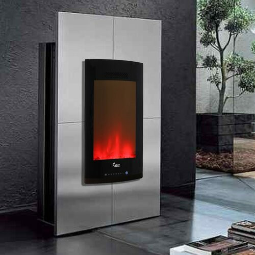 Vertical Wall Mount Electric Fireplace  Luxury Vertical Wall Mount Freestanding Electric Fireplace