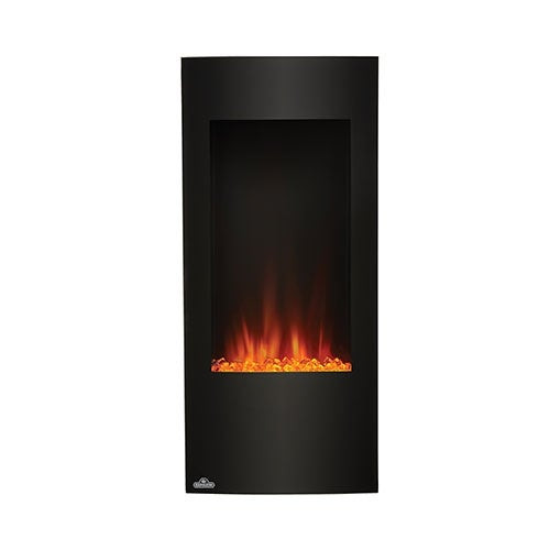 Vertical Wall Mount Electric Fireplace  Shop Napoleon NEFV38H 38 Inch Vertical Wall Mount Electric