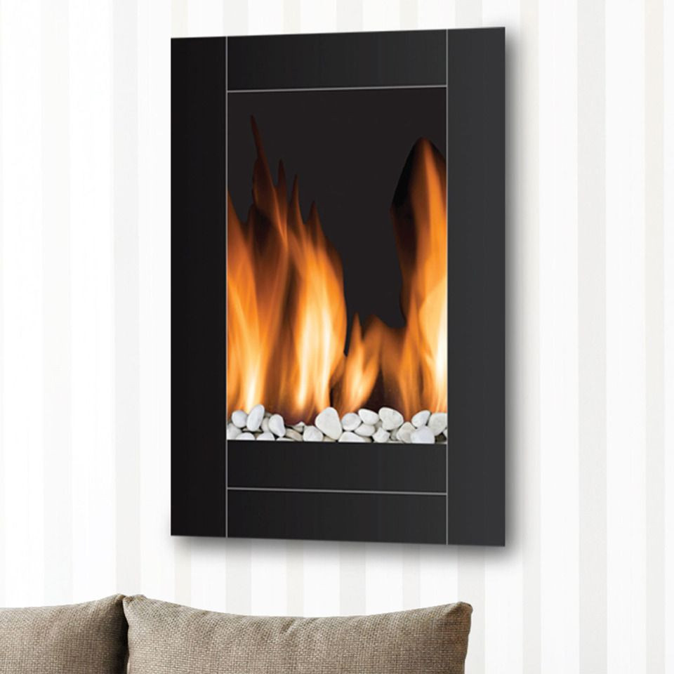 Vertical Wall Mount Electric Fireplace  Wall Mounted Vertical Electric Fireplace