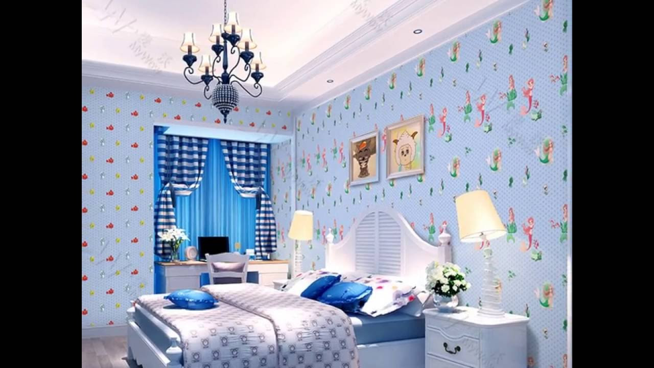 Wall Paper For Kids Room  A1 5 Cartoon PVC Wallpaper for Kids Room