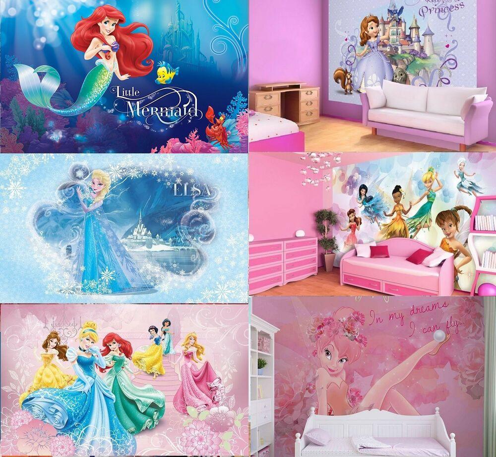 Wall Paper For Kids Room  Wall Mural wallpapers KIDS ROOM DISNEY Frozen