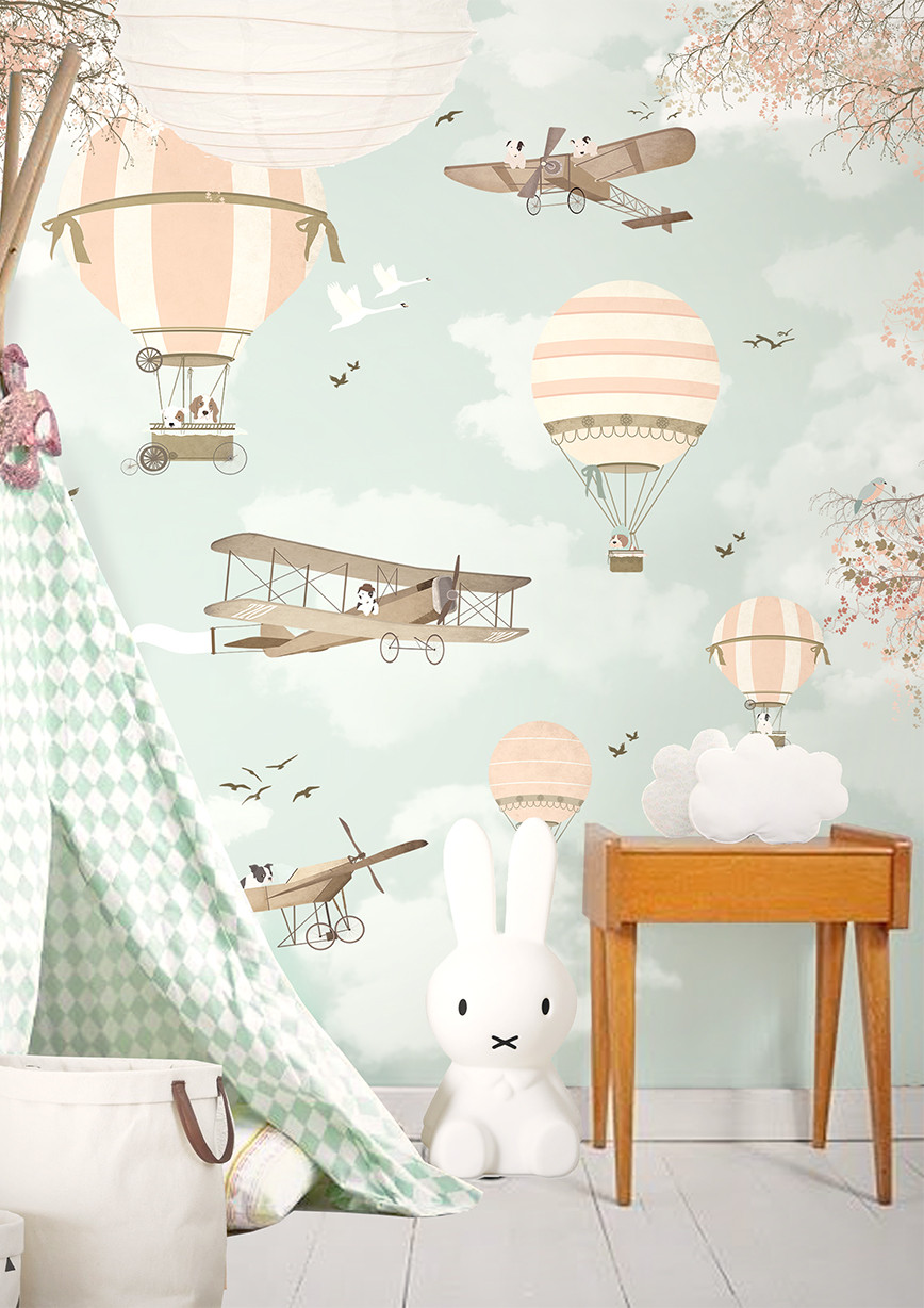 Wall Paper For Kids Room  Little Hands Wallpaper Bring Magic into Your Kids Room