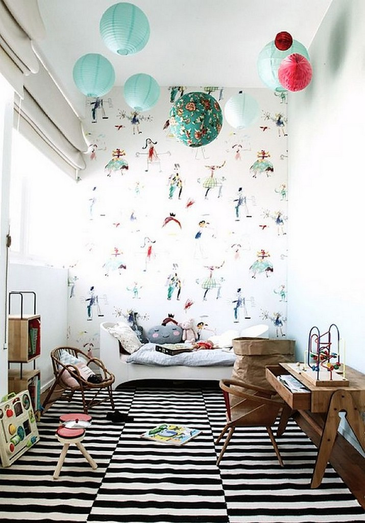Wall Paper For Kids Room  Creative Wallpapers For Kids Bedrooms That Will Turn any