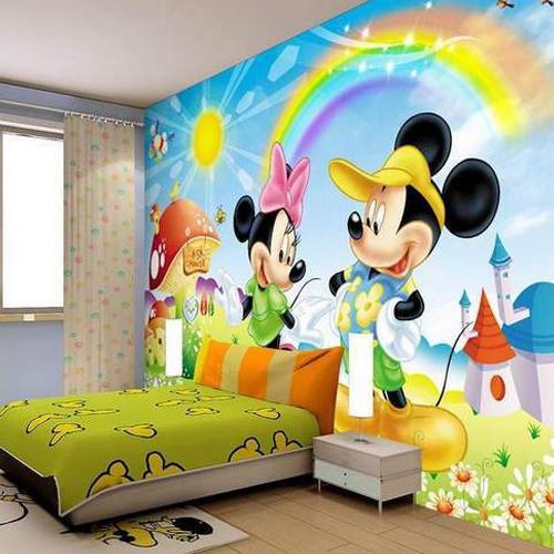 Wall Paper For Kids Room  PVC Kids Room Wallpaper Rs 35 square feet Shree Mann
