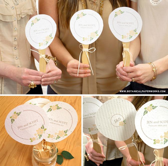 Wedding Fan DIY  free printable Personalized Wedding Paper Fans