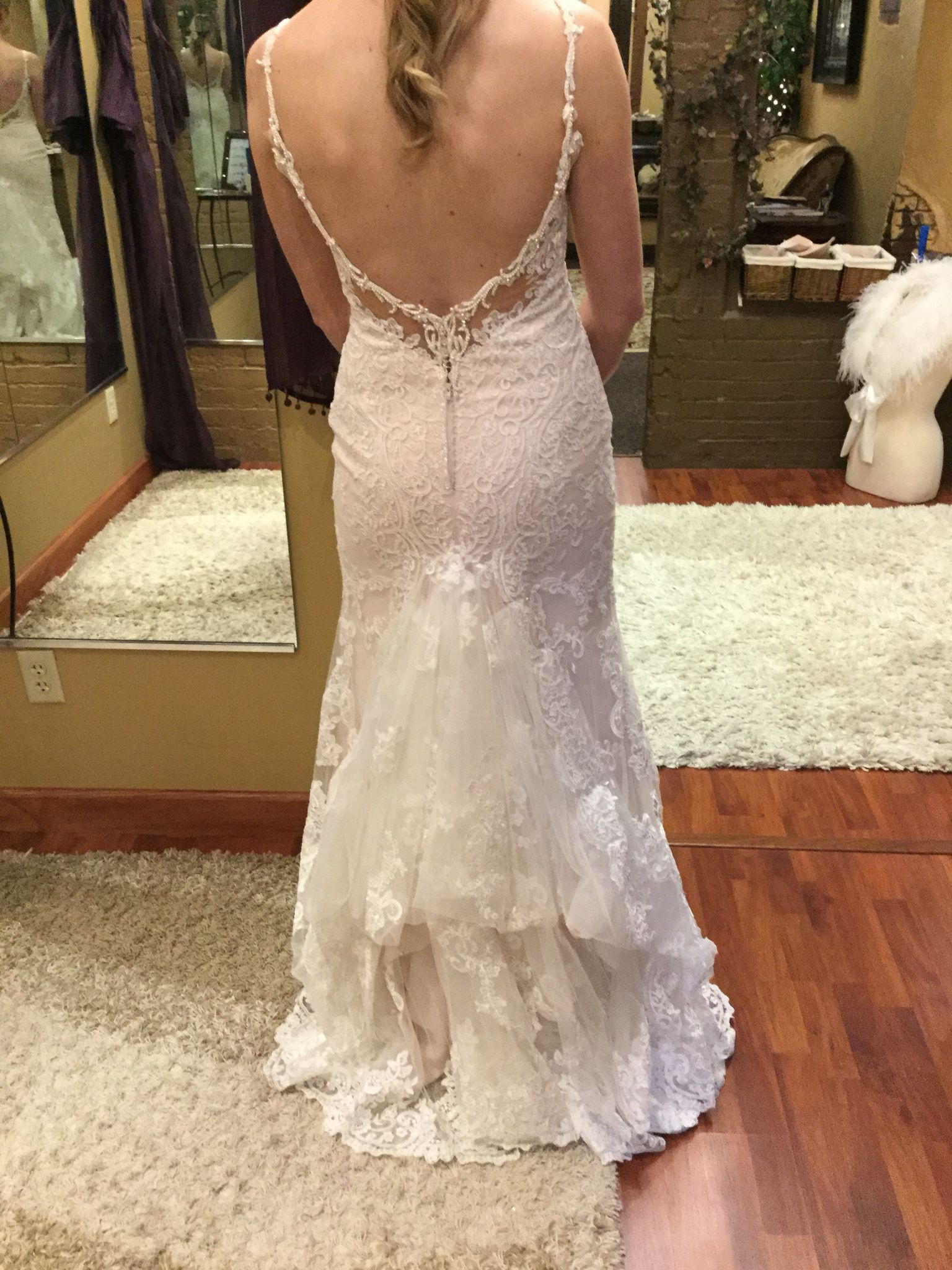 Wedding Gown Bustle  Split layer French bustle With images