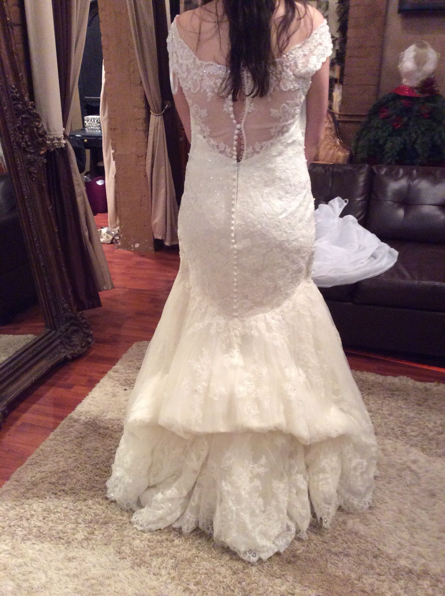 Wedding Gown Bustle  Wedding Gown Bustle Styles on Pinterest