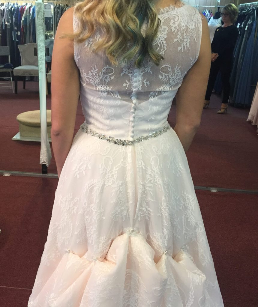 Wedding Gown Bustle  What is a Wedding Dress Bustle and Why Do You Need It