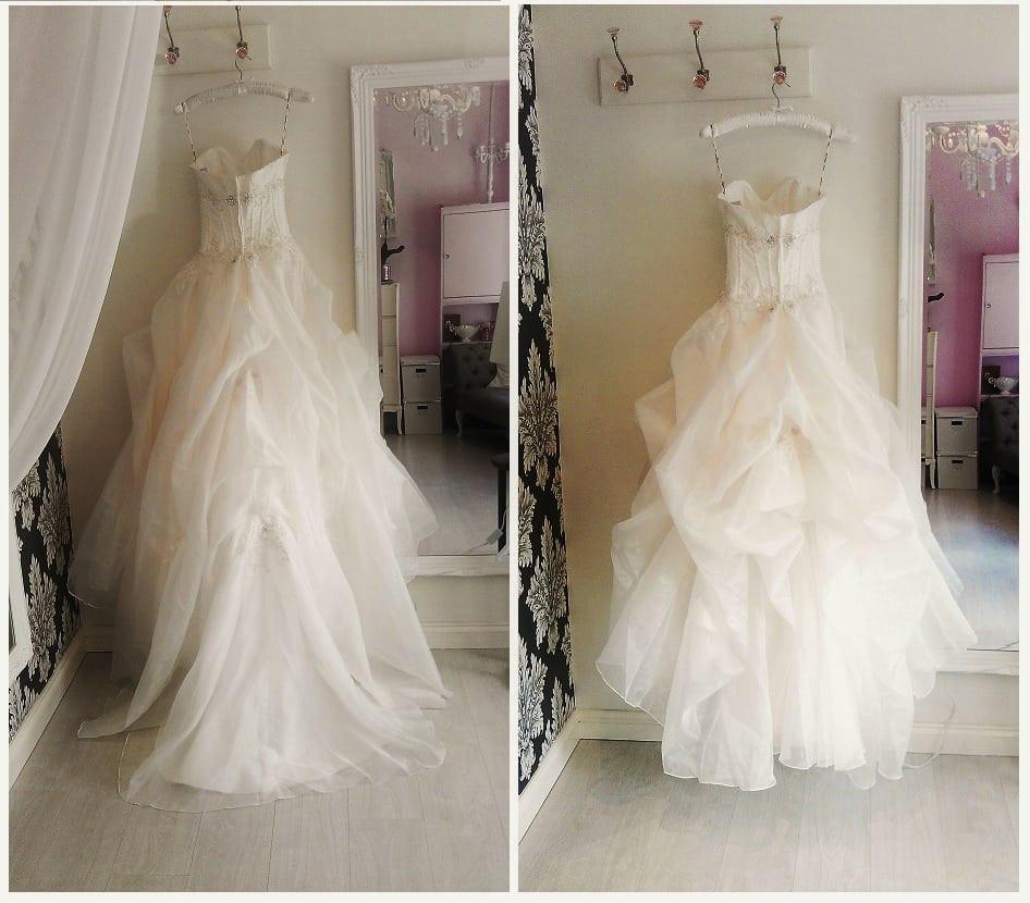 Wedding Gown Bustle  Bust out a Bustle Brides d Dance