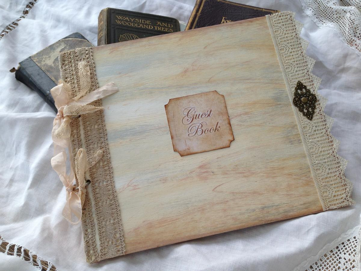Wedding Guest Book Ivory  Wedding Guest Book Ivory 24 Pages on Luulla