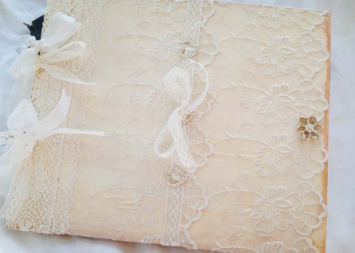 Wedding Guest Book Ivory  Wedding Guest Book Ivory And White 40 Pages on Luulla