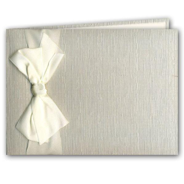 Wedding Guest Book Ivory  Wedding Guest Book Ivory Silk