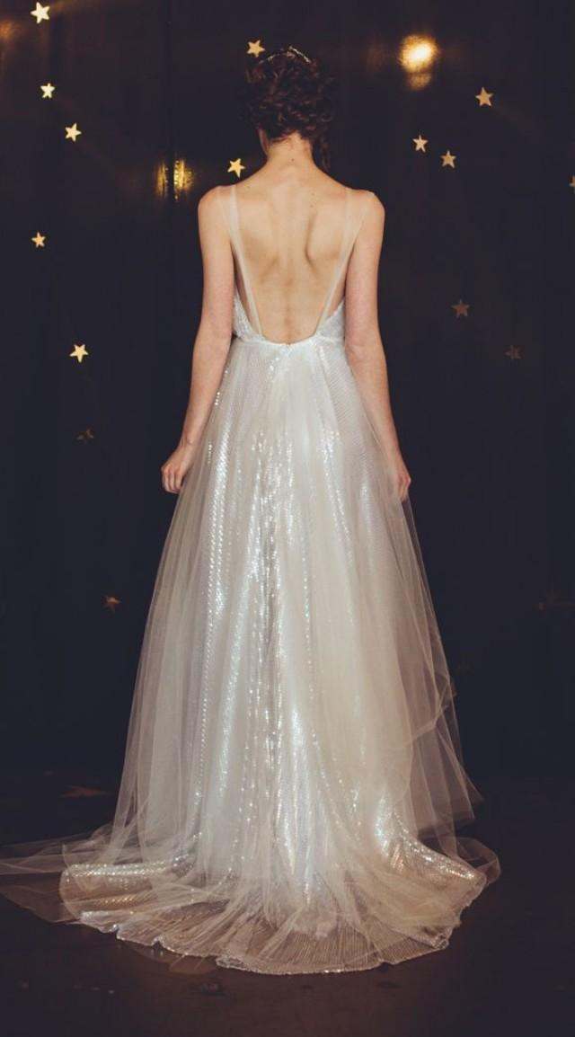 Wedding Night Gowns  35 Inspirational Ideas To Make A Stunning Starry Night