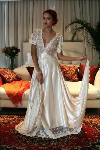 Wedding Night Gowns  30 Ideas Wedding Night Gown For Your Inspiration