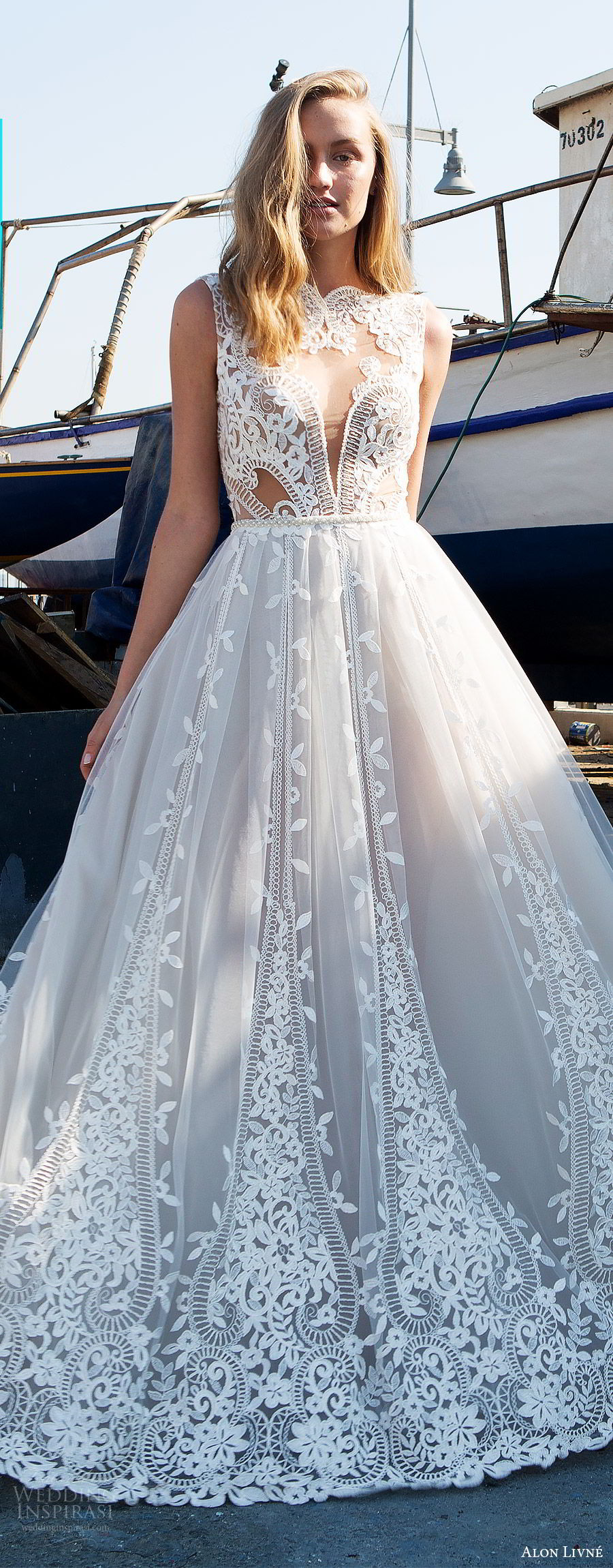 Wedding Night Gowns  Alon Livne White 2017 2018 Wedding Dresses