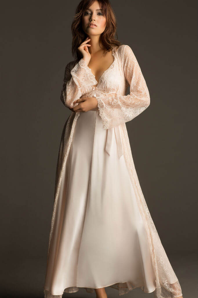 Wedding Night Gowns  Introducing NK iMode Silk Nightwear and Bridal Lingerie