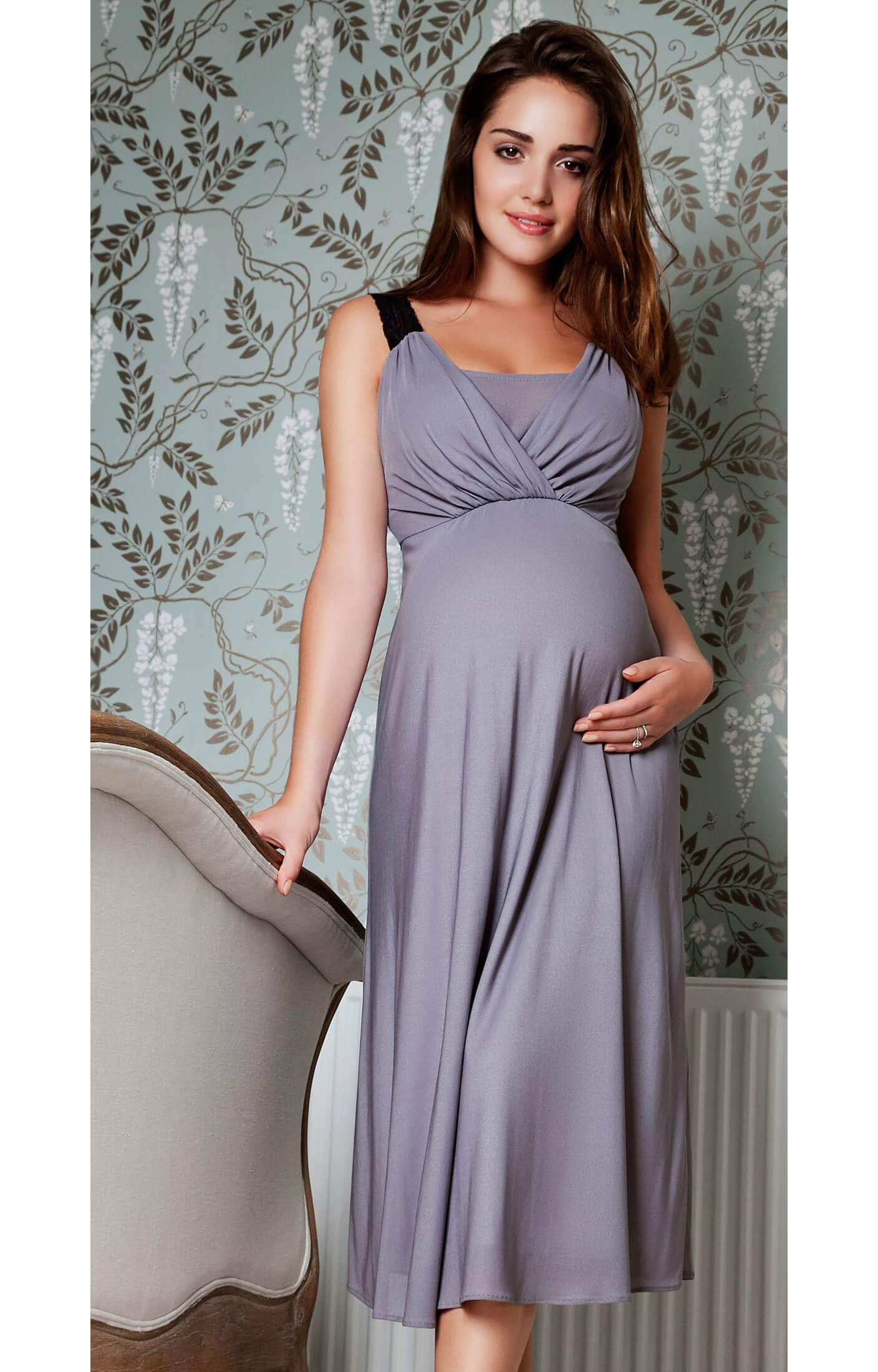 Wedding Night Gowns  Luella Maternity Night Gown Maternity Wedding Dresses