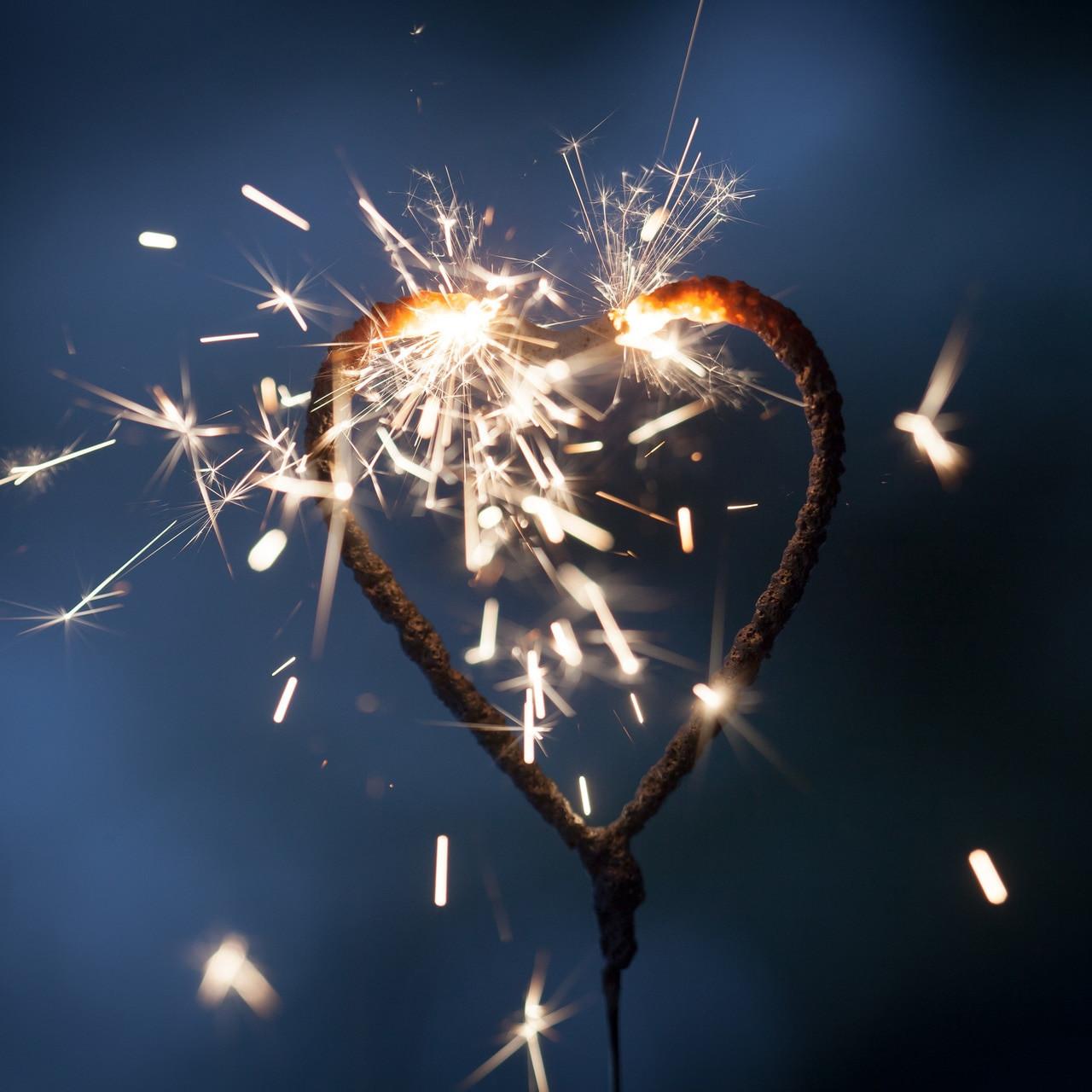 """Wedding Sparkler  5"""" Heart Shaped Wedding Sparklers sparklers"""