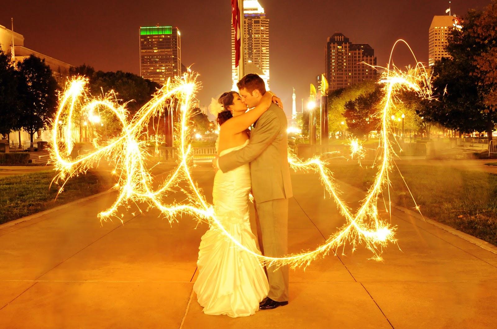 Wedding Sparkler  ViP Wedding Sparklers Writing With Wedding Sparklers