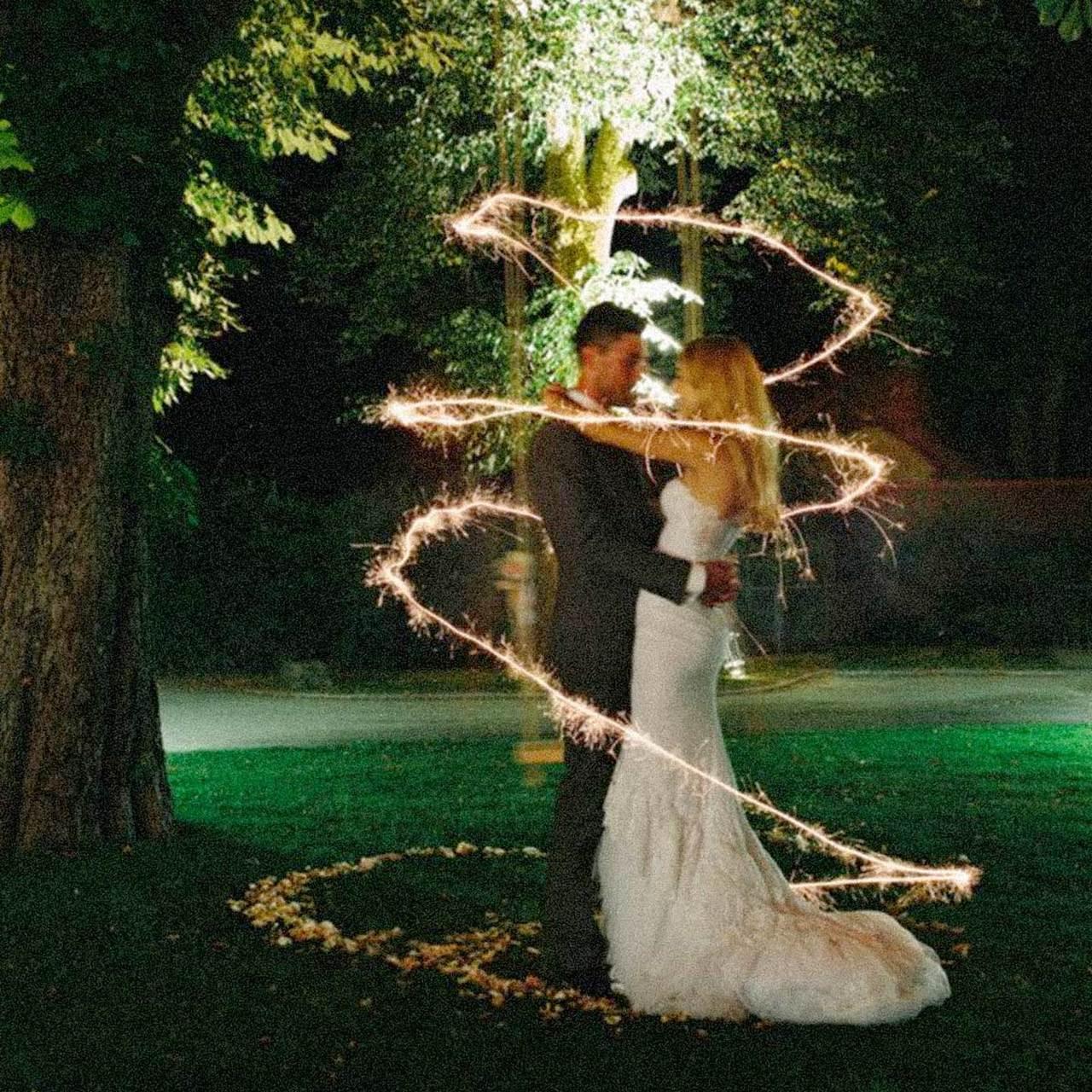 """Wedding Sparkler  Premium Gold 20"""" Wedding Sparklers"""