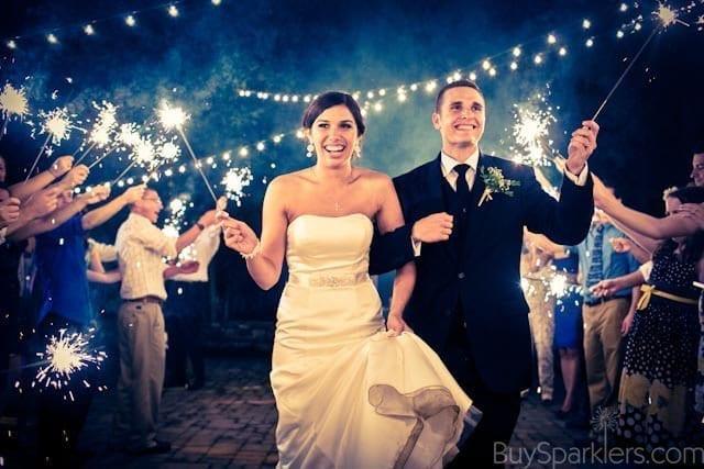 Wedding Sparklers Usa Coupon Code  36 Inch gold wedding Sparklers 36 Long Stem