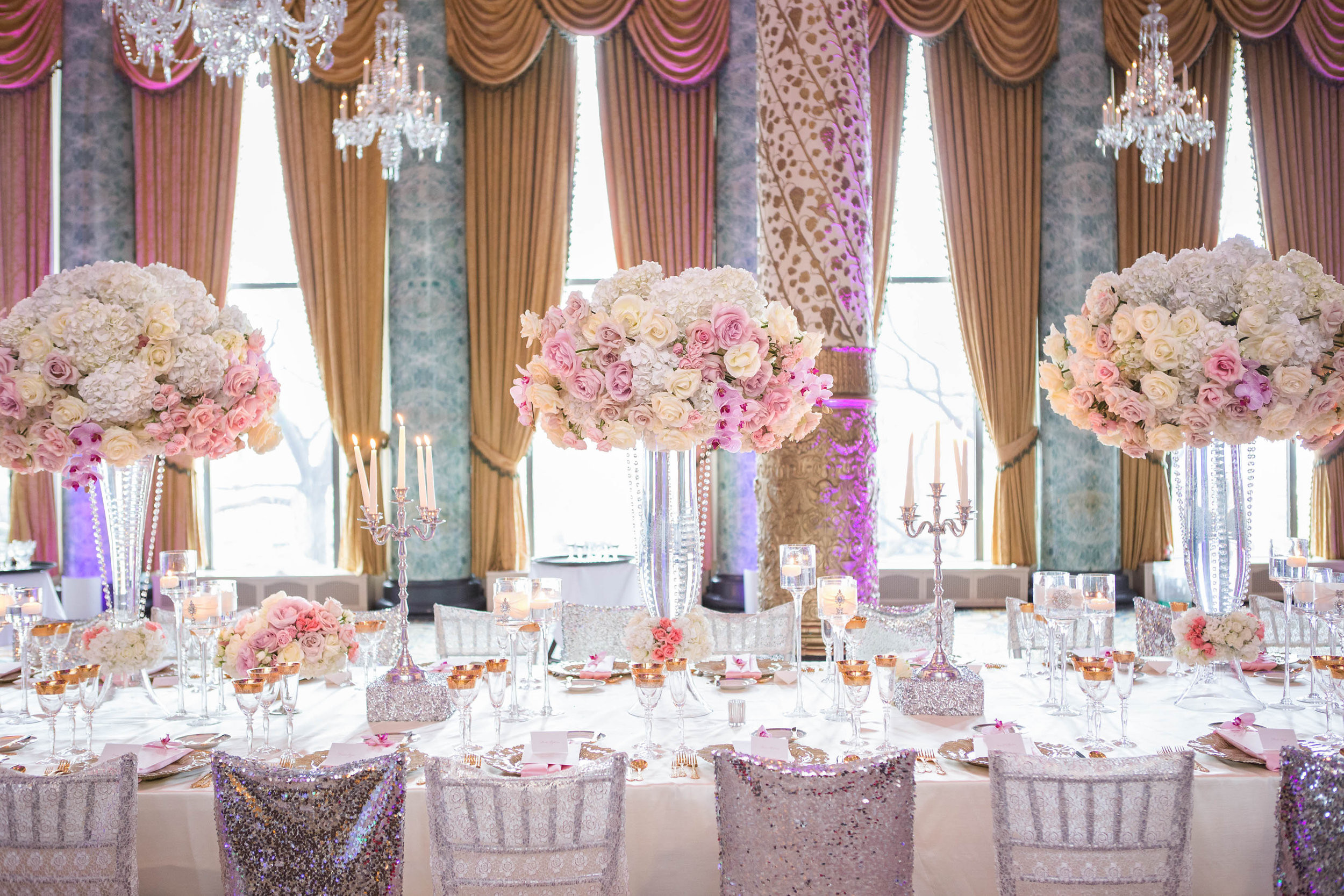Wedding Table Decorations  Wedding Ideas Long Reception Tables Belle The Magazine